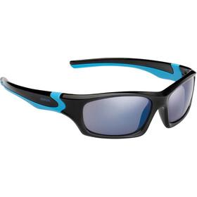 Alpina Flexxy Teen Okulary Młodzież, black-cyan